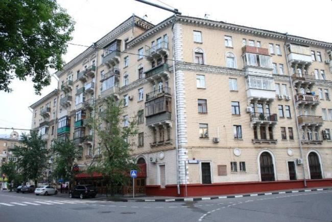Москва, Новопесчаная улица, дом 16, корпус 1 (САО, район Сокол)