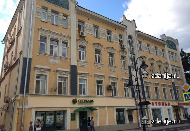 Москва, Пятницкая улица, дом 54, строение 1 (ЦАО, район Замоскворечье)