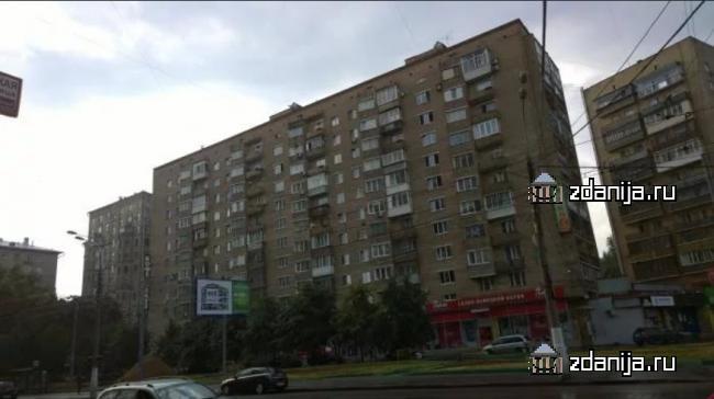 Москва, Щербаковская улица, дом 8 (ВАО, район Соколиная Гора)