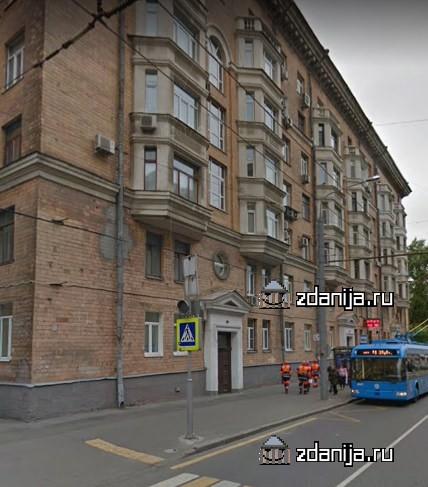 Москва, Новопесчаная улица, дом 3, корпус 1 (САО, район Сокол)