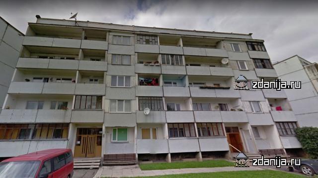 Серия дома, Латвия г. Бауска (панельная пятиэтажка)