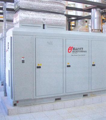 Автономная мини-ТЭС на основе двух МТУ мощностью по 1ОО кВт
