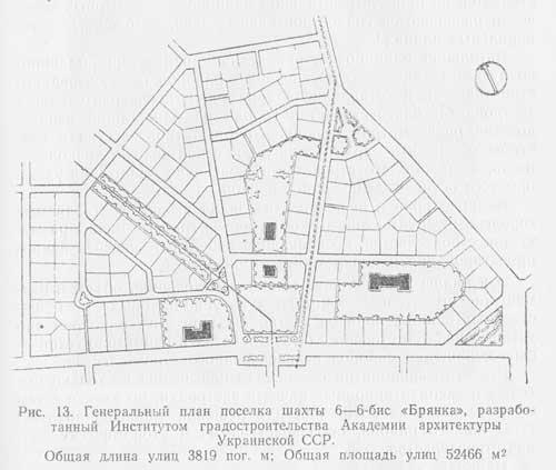 генеральный план посёлка