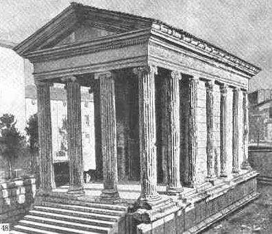 ионический храм