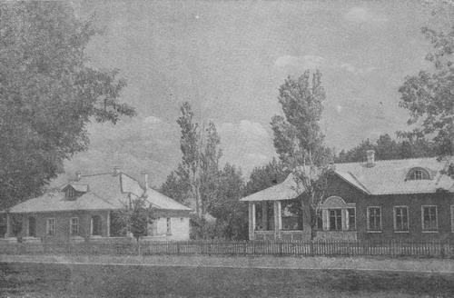 Жилой район на правом берегу Днепра, г. Запорожье