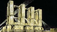 Наркомтяжпром, архитекторы - братья Веснины, 1934