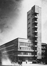 конструктивизм - Мэрия, Ной Троцкий, Ленинград, 1932-1934