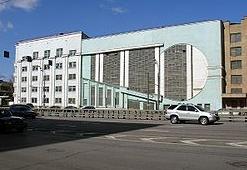 Гараж Интуриста, архитектора  Константина Мельникова, 1933.