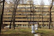 Здание Наркомфина архитектора Моисея Гинзбурга