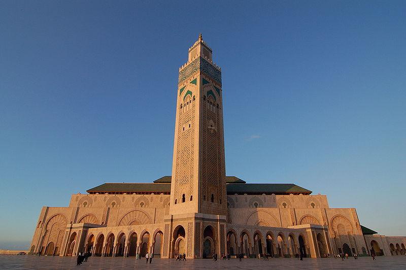 исламская архитектура - Мечеть Хасана Второго  в Касабланке, Марокко