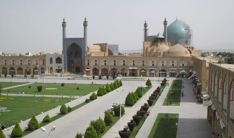 исламская Персидская архитектура - Мечеть Шах в Исфахане