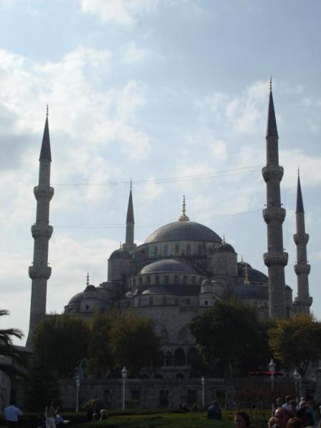 турецкая архитектура - Мечеть Султана Ахмеда в Стамбуле