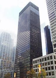 Сигрем билдинг, Нью Йорк, 1958. Один из лучших примеров  корпоративного модернизма