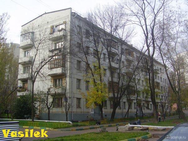Жилой дом башенного типа неоп. серии - башня вулыха.