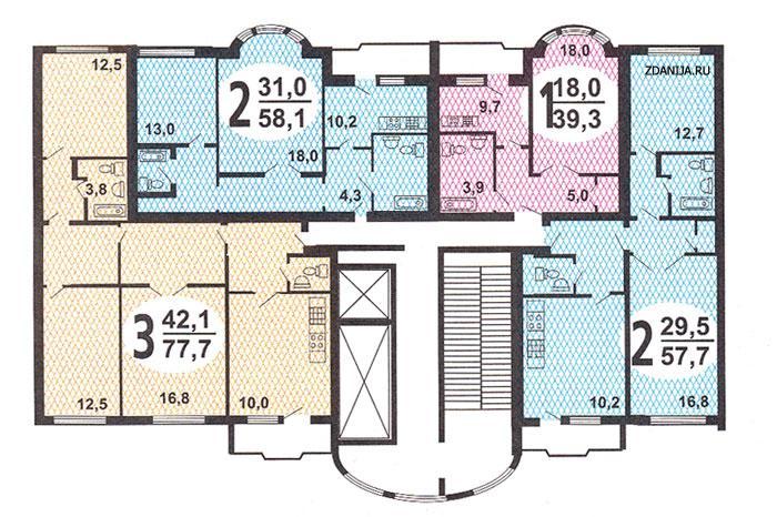 Схема электроснабжения (электропроводки) квартиры в