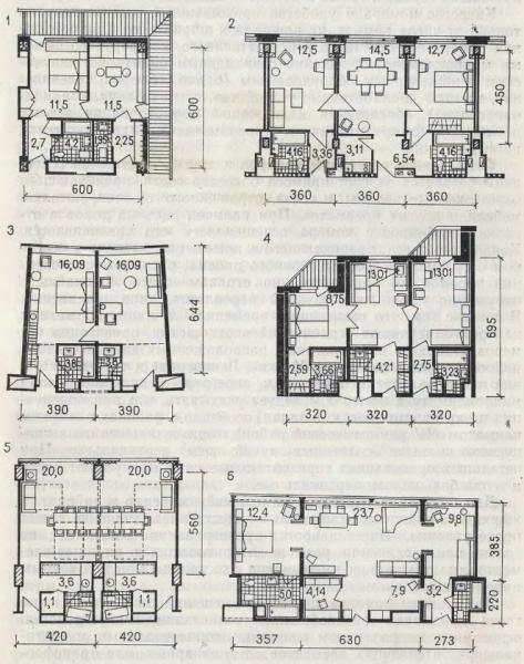 Планировки гостиничных номеров-комплексов - Фото пользователей сайта фото