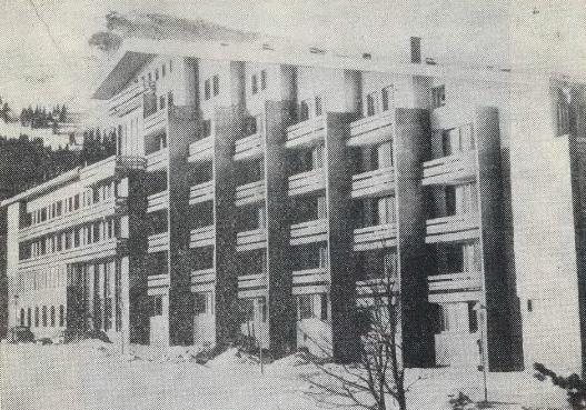Архитектурное решение гостиниц и их градостроительная роль в застройке