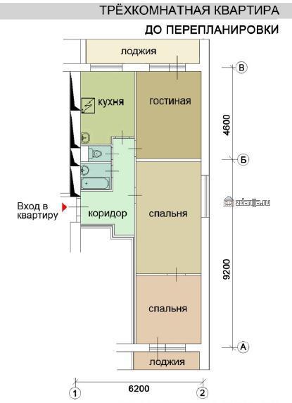 """Фото для """"Дома серии И209А, планировки квартир, характеристика"""""""