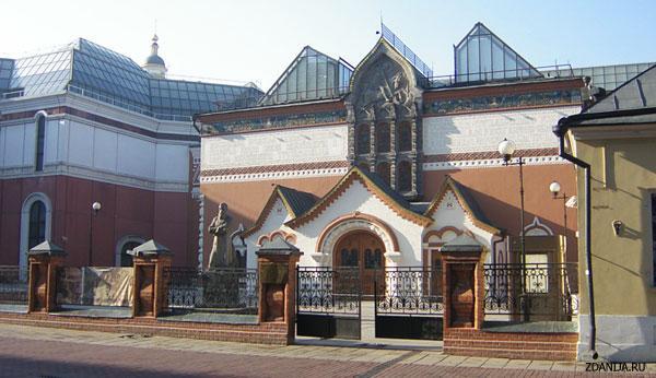 Государственная Третьяковская Галерея ( The State Tretyakov Gallery ) - объекты культуры фото