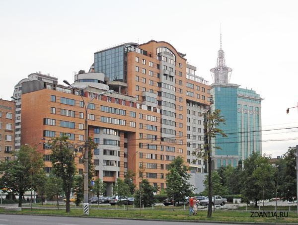 Жилой комплекс Камелот [ Москва, Комсомольский проспект, дом 32 ] - Жилые дома фото