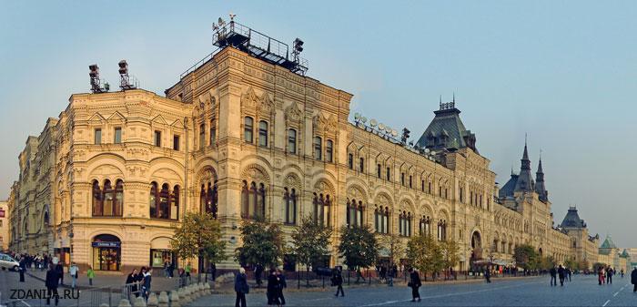 Здание торгового комплекса ГУМ на Красной площади - Бизнес центры, офисно-торговые центры фото