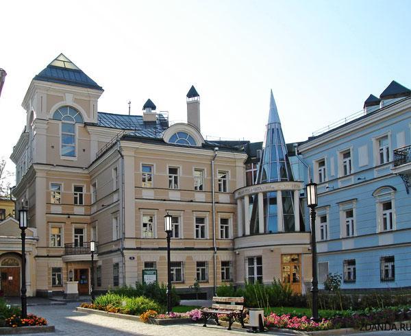 здание библиотеки им.Тургенева - объекты культуры фото