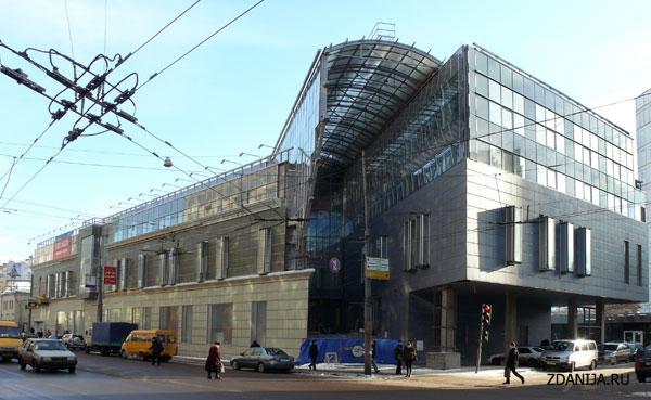 Государственный детский театр эстрады, здание хай-тек - объекты культуры фото