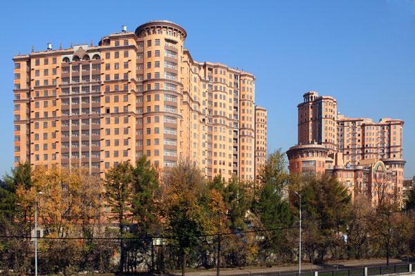 Современный жилой комплекс - Жилые дома фото