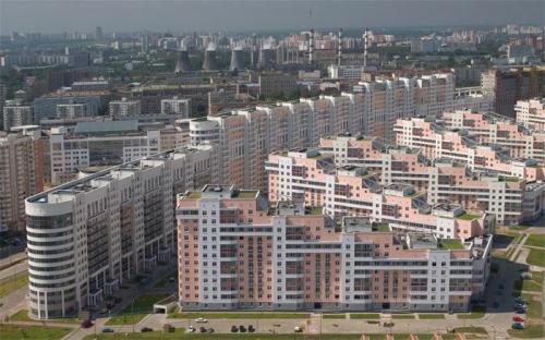Комплекс жилых домов на Ходынском поле - Жилые дома фото