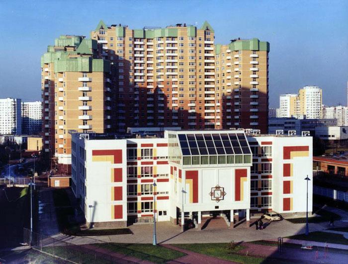 Типовая общеобразовательная школа, Москва, ул. Лобачевского, д.66 - образовательные учереждения фото