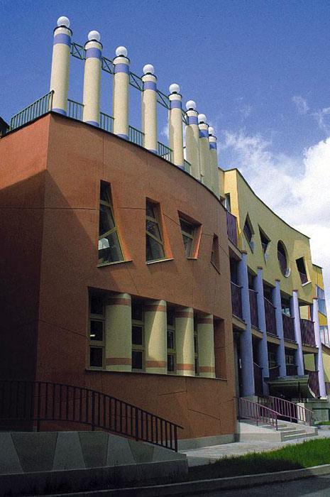 фасад здания Центра реабилитации для детей, страдающих аутизмом - образовательные учереждения фото