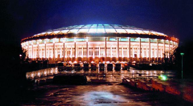 Большая спортивная арена в Лужниках - Спортивные сооружения фото