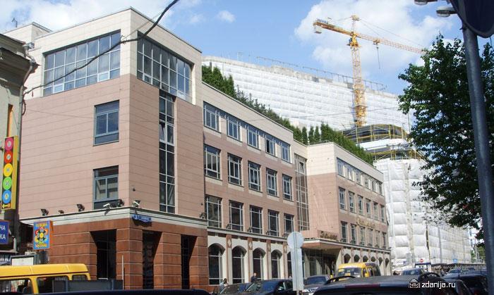 Офисное здание, Москва,ул. Лесная дом 3 - Бизнес центры, офисно-торговые центры фото
