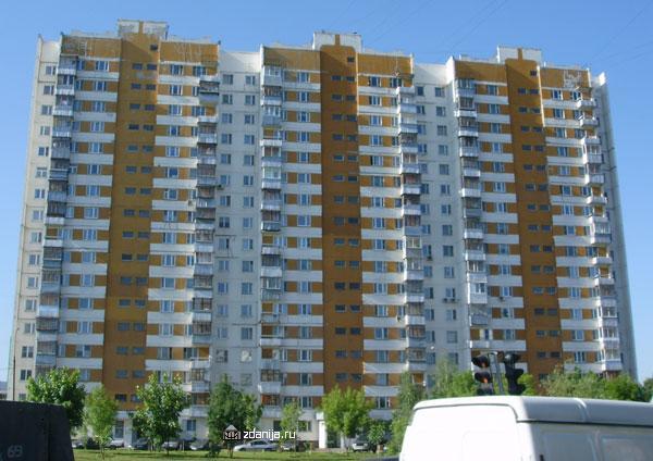 здание жилого дома серии  П-3 - п-3 (жилые дома серии п3) фото