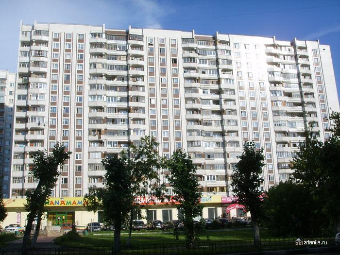 Жилой дом серии п44, планировка секции - Дома серии П44, планировки квартир с размерами фото