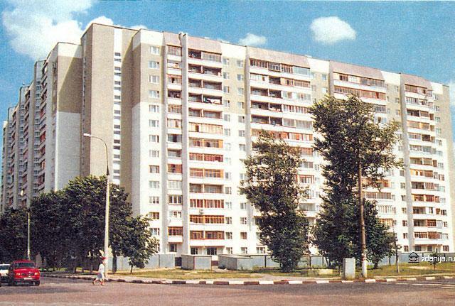 жилой дом серии и п46м ( зеленодольская ул. дом 11 , Москва) п 46м - П46М фото