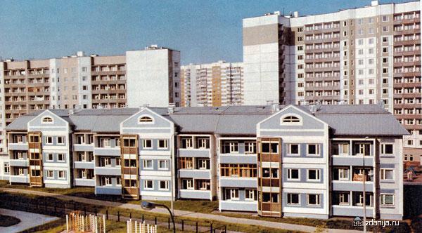 жилой дом серии бекерон - Бекерон фото