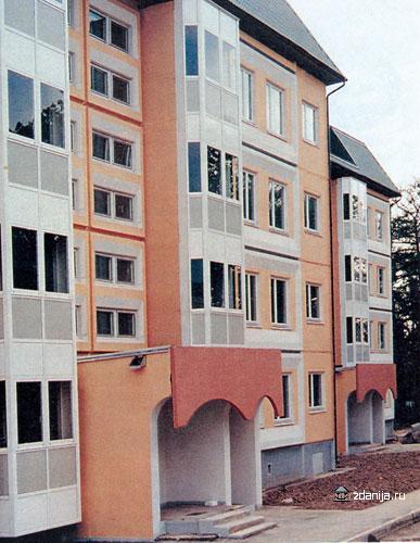 3-4-этажные жилые панельные дома системы < Бекерон > Новокосино, мкр. 1, корп. 20 - Бекерон фото