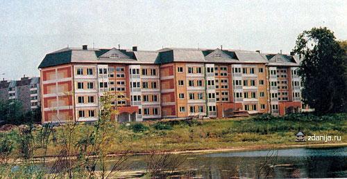 4-этажный панельный жилой дом системы < Бекерон > Новокосино, мкр. 1, корп. 20, - Бекерон фото