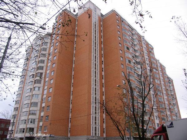 жилой дом серии п44т  ( москва, ул. высокая дом 4) - Дома серии п44т фото