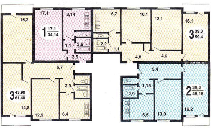 Трешка находится каширское ш. , 124к1, метро. 8 этаж, купить.