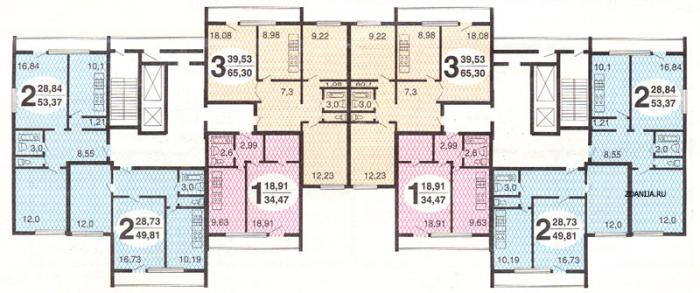 типовые планировки квартир и-522а - и-522а фото