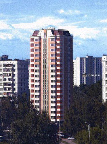 жилой дом серии п44к - башня - п44к фото