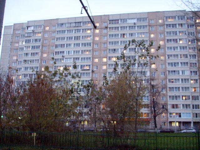 жилой дом серии п46м в районе Дубровка, г. Москва - П46М фото