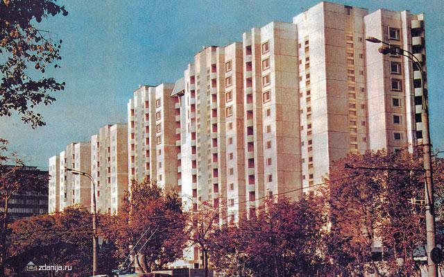 Панельные секционные дома серии П-55 - Дома серии п55, планировки квартир  фото
