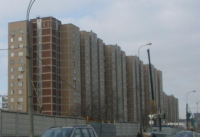 жилые дома серии п55 в Хорошево-Мневники - Дома серии п55 фото