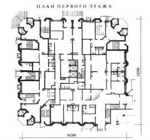 планировки квартир здания серии И-1737 - И-1737 фото