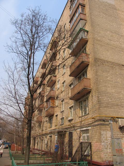 Серия московских кирпичных восьмиэтажек II-29-3 - II-29-3 фото
