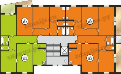 121 серия планировка квартир - 121 серия фото