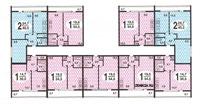 II 68 серия жилые дома - типовые планировки квартир II-68